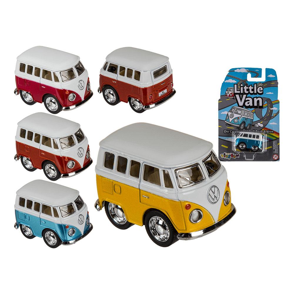 modellauto volkswagen vw bus t1 bulli little van metall. Black Bedroom Furniture Sets. Home Design Ideas